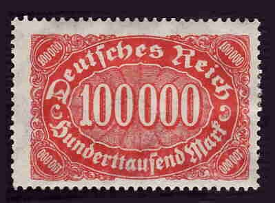 German MNH Scott #209 Catalog Value $.48