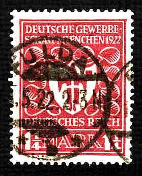 German Used Scott #212 Catalog Value $1.90