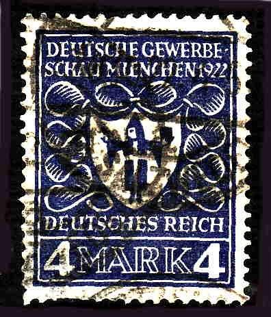 German Used Scott #215 Catalog Value $1.90