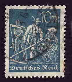 German Used Scott #222 Catalog Value $1.50