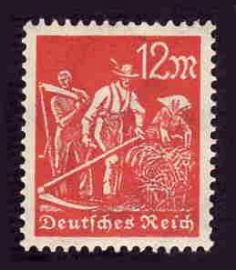 German MNH Scott #223 Catalog Value $.45