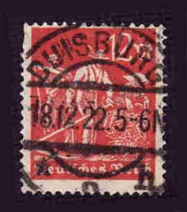 German Used Scott #223 Catalog Value $1.50