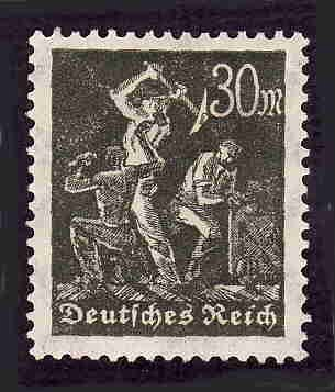 German MNH Scott #226 Catalog Value $.45