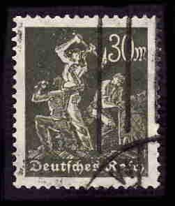 German Used Scott #226 Catalog Value $2.25