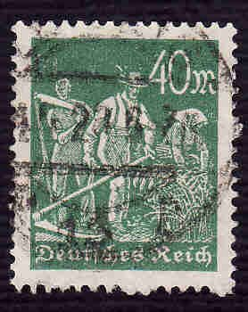 German Used Scott #227 Catalog Value $1.50