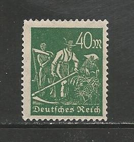 German MNH Scott #227 Catalog Value $.45
