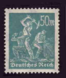 German Hinged Scott #228 Catalog Value $.40