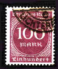 German Used Scott #229 Catalog Value $1.50