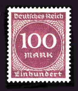 German MNH Scott #229 Catalog Value $.45
