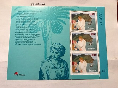 Portugal Madeira Europa 1997 s/s mnh