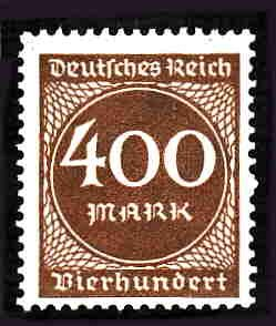 German MNH Scott #232 Catalog Value $.45