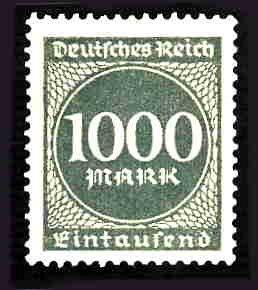 German MNH Scott #234 Catalog Value $.45