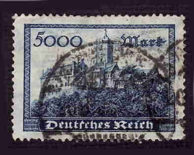 German Used Scott #237 Catalog Value $3.00