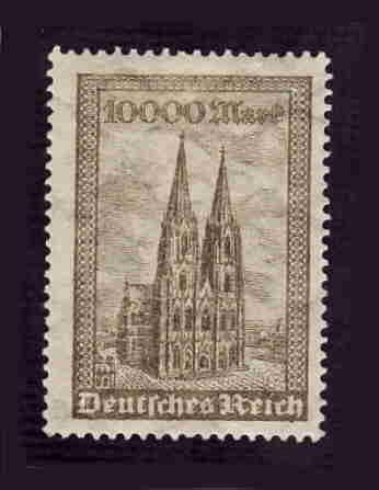German MNH Scott #238 Catalog Value $.95