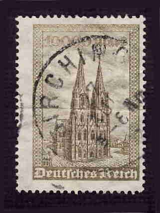 German Used Scott #238 Catalog Value $3.75