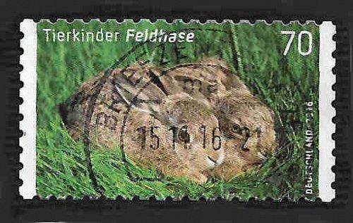 German Used Scott #2901 Catalog Value $.80