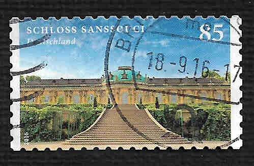German Used Scott #2903 Catalog Value $1.00