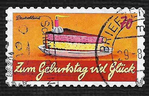 German Used Scott #2920 Catalog Value $.80
