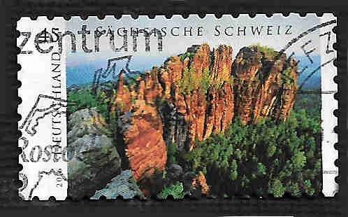 German Used Scott #2926 Catalog Value $.50