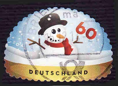 German Used Scott #2811 Catalog Value $.75