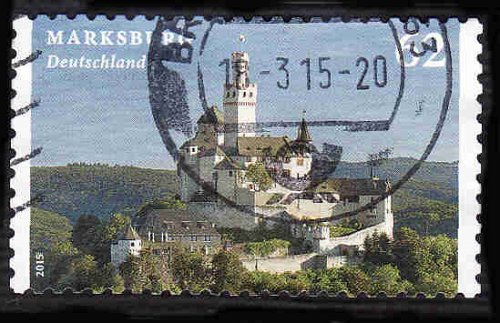 German Used Scott #2828 Catalog Value $.75