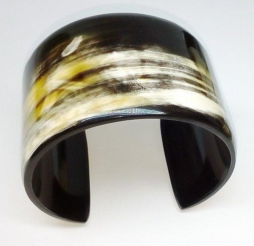 Horn cuff bracelet - Buffalo horn jewelry - Horn cuff - KAI-3722