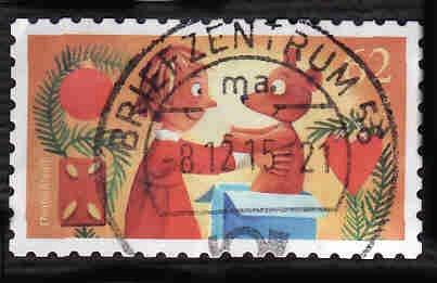 Germany Used Scott #2870 Catalog Value $.70