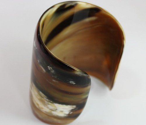 Horn bracelet - Horn cuff - Horn jewelry - KAI-3704