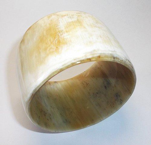 Horn bracelet - Horn bangle bracelet - Horn jewelry - KAI-3738