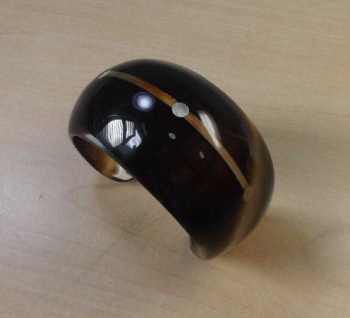 Horn bracelet - Horn cuff bracelet - horn jewelry - KAI-3718