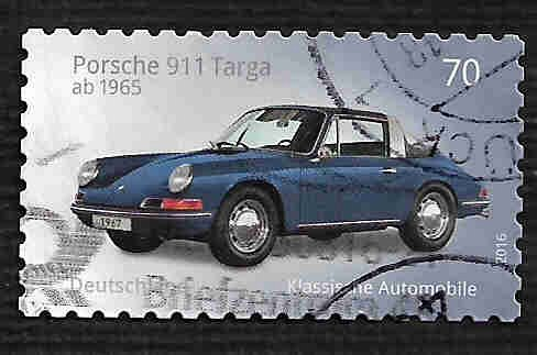 German Used Scott #2891 Catalog Value $.80