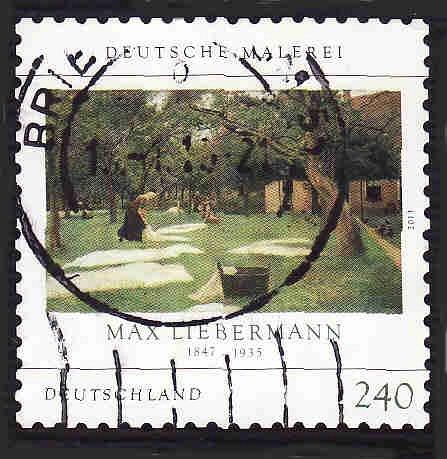 German Used Scott #2710 Catalog Value $3.25