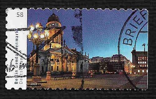 German Used Scott #2714 Catalog Value $.75