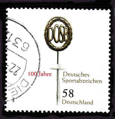 German Used Scott #2726 Catalog Value $.75