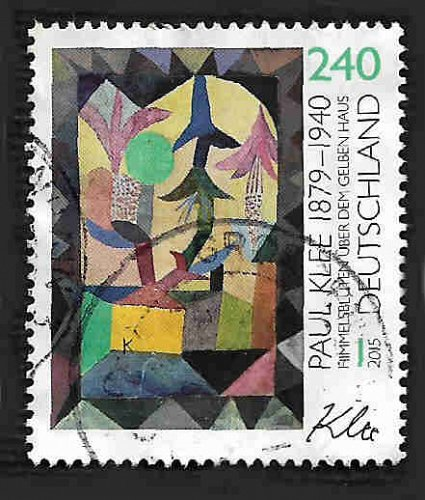 Germany Used Scott #2879 Catalog Value $2.60