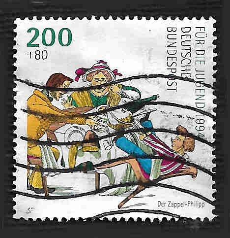 German Used Scott #B766 Catalog Value $1.75