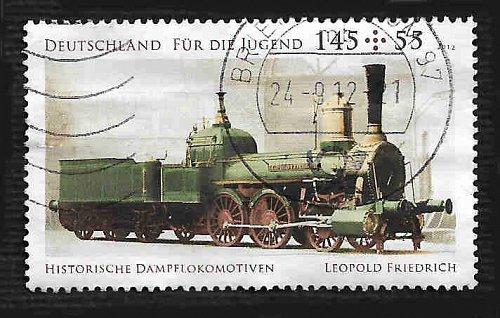 German Used Scott #B1068 Catalog Value $5.00