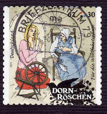 German Used Scott #B1101 Catalog Value $2.10