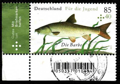 German Used Scott #B1106 Catalog Value $3.00