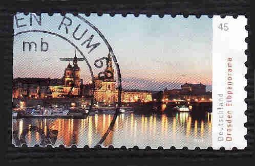 German Used Scott #2782 Catalog Value $.60