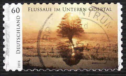 German Used Scott #2784 Catalog Value $.85