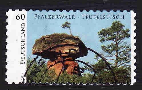 German Used Scott #2785 Catalog Value $.85