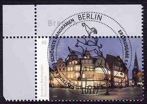 German Used Scott #2791 Catalog Value $.85