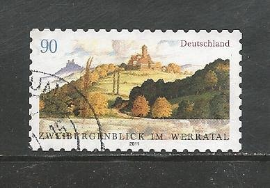 German Used Scott #2609 Catalog Value $1.25