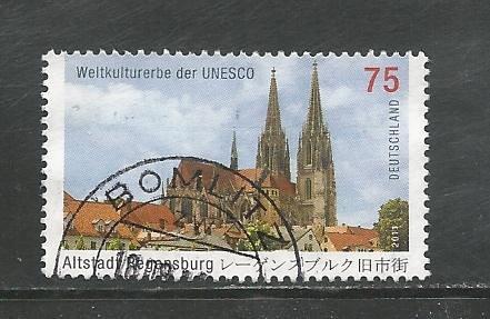 German Used Scott #2611 Catalog Value $1.10