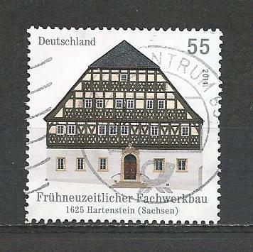 German Used Scott #2618 Catalog Value $.80