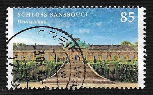 German Used Scott #2902 Catalog Value $.95
