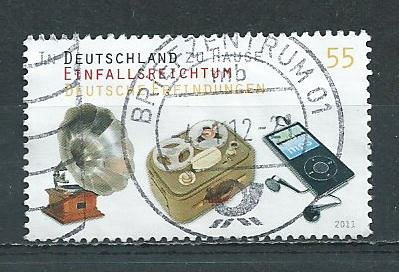 German Used Scott #2641 Catalog Value $.75