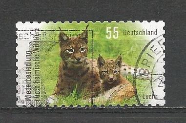 German Used Scott #2660 Catalog Value $.75