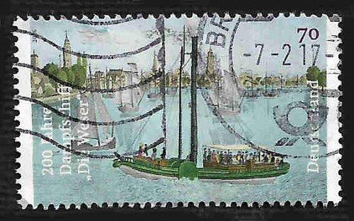 German Used Scott #2941 Catalog Value $.75